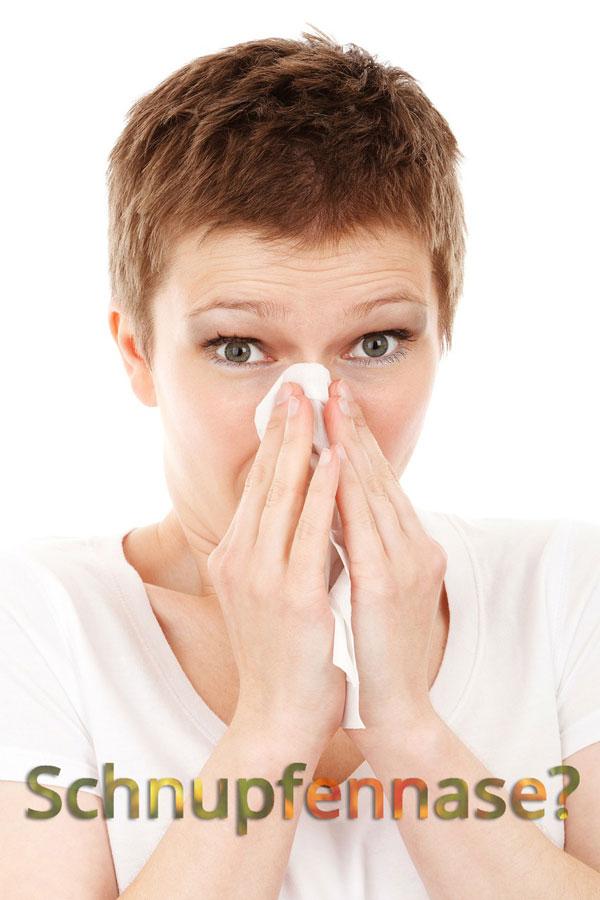 Die Nase läuft – was kann man tun?