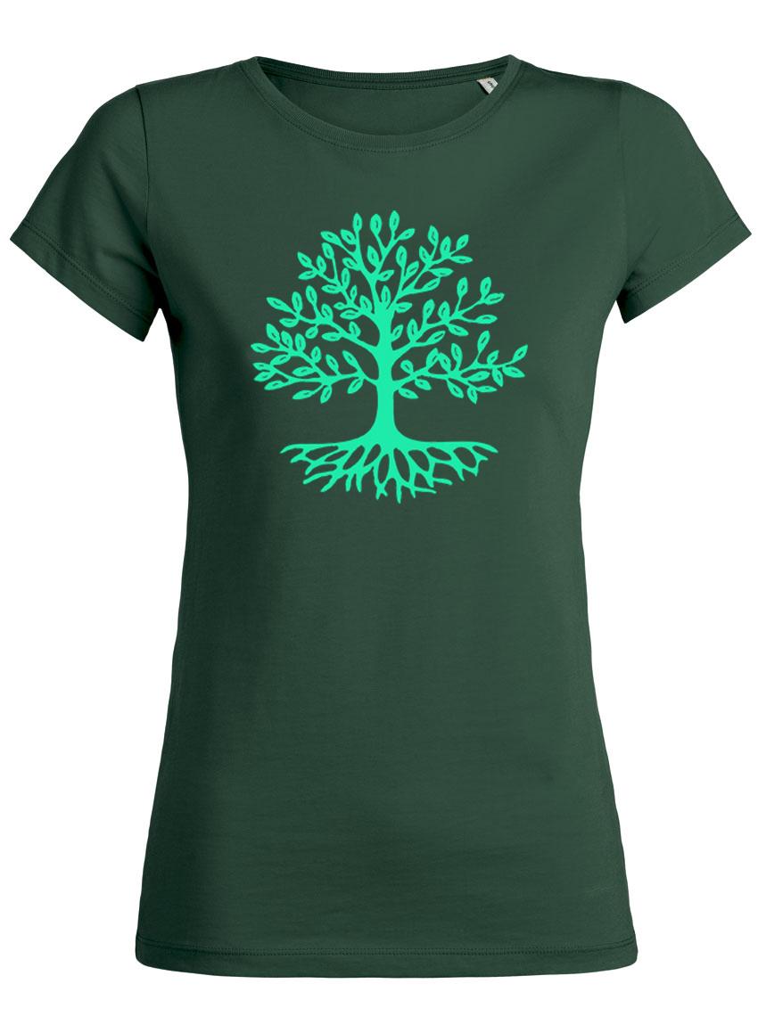 1 € pro Shirt sammeln wir für einen neuen Stadtbaum